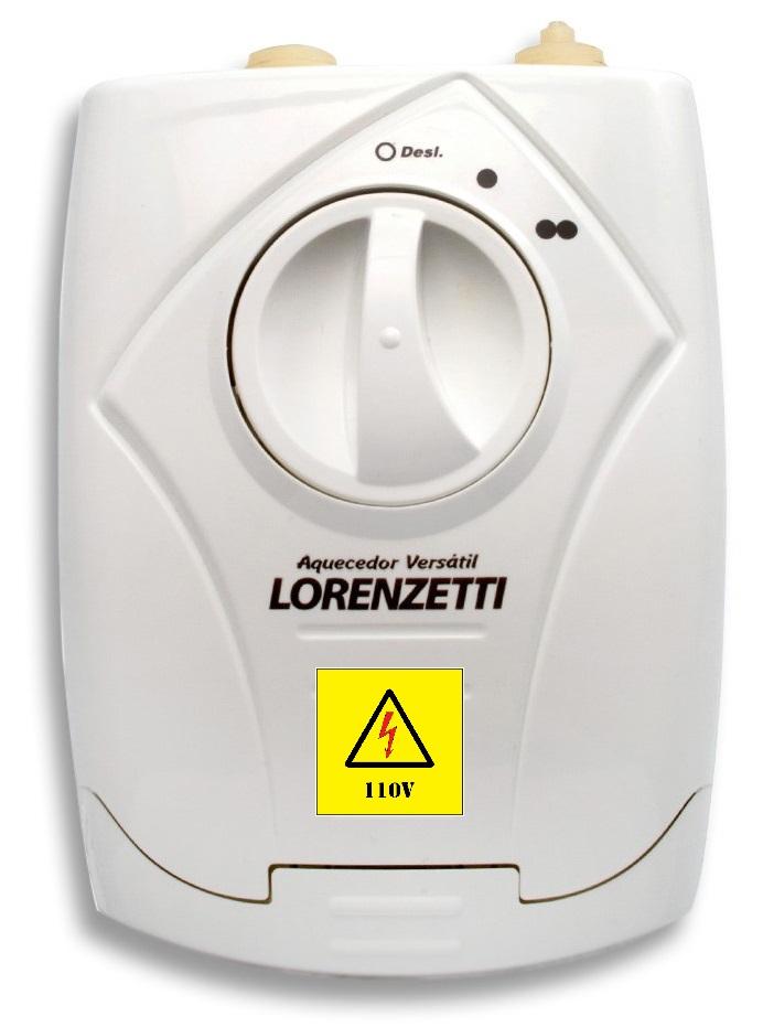 Aquecedor De Água Lorenzetti 5500w 127v Versátil