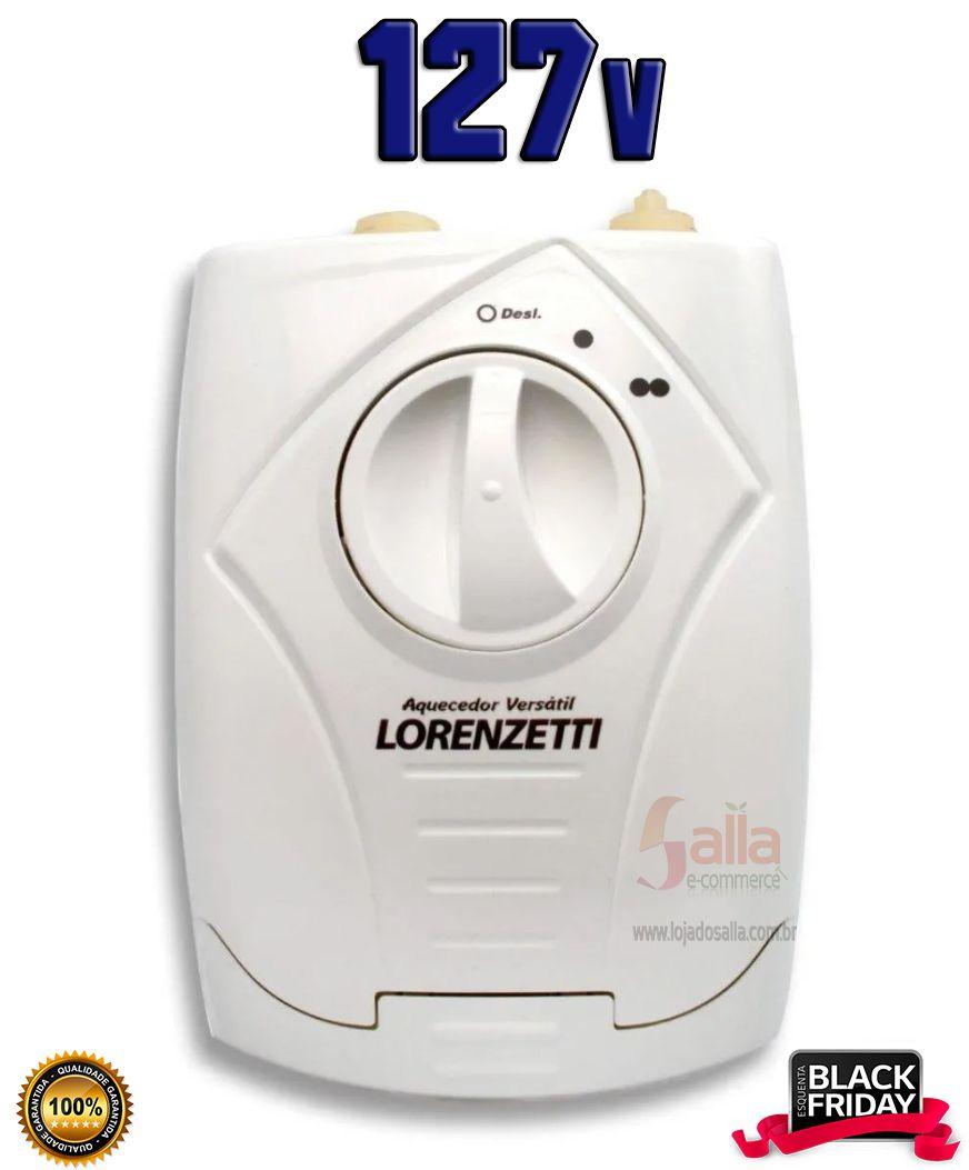 Aquecedor Elétrico De Água Lorenzetti 5500w 127v 3Temperaturas Versátil