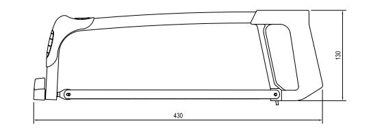 Arco de Serra 12 polegadas Fixo Plus Lufkin ASFP006L
