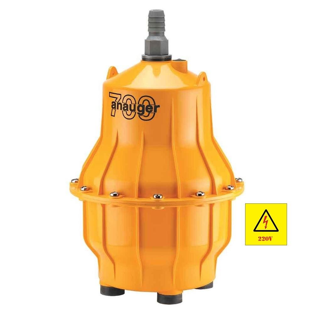 Bomba D'água Elétrica Submersa Vibratória 700 220V 450W Anauger Água Limpa
