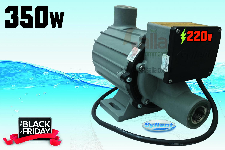 Motobomba Água Quente Circulação / Pressurização 350w 220v MB63E0066A/P Syllent Aqquant