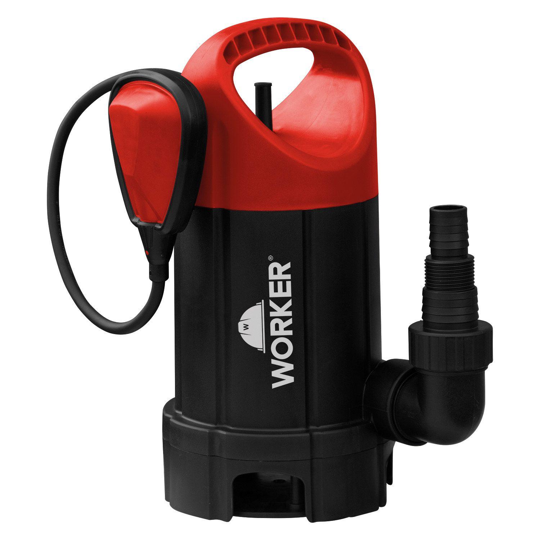 Bomba D'Água Submersível Para Água Limpa 1/2 cv 127v Worker