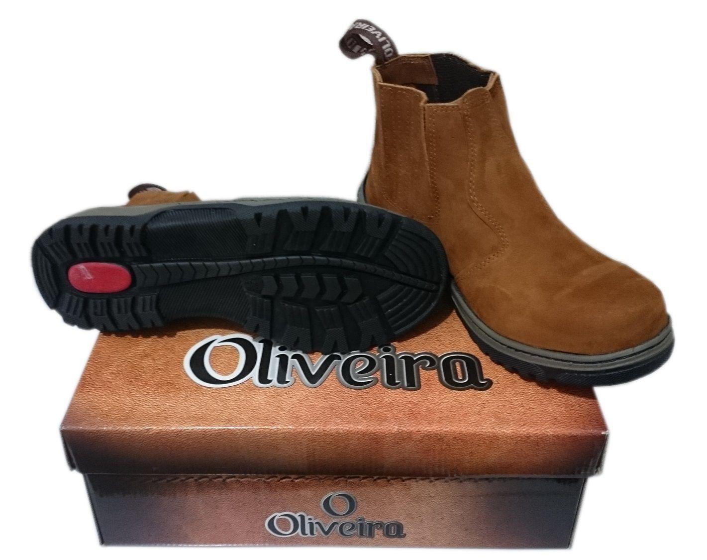 Botina Castor Oliveira Sapato Nº 40