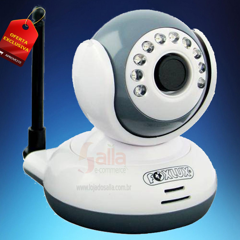 Câmera de Segurança sem fio digital 2.4 Ghz Wireless FoxLux