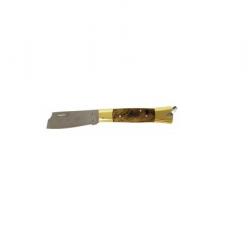Canivete Aço Inox CB Latão/Madeira 320/7 Cimo