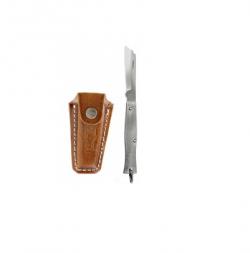 Canivete Aço Inox Tradicional C/Bainha 220/3 Cimo