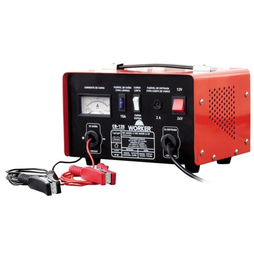 Carregador de Bateria CB 13S 127v  Worker