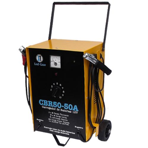 Carregador de Bateria CBR50 50A 12v Luf-Lux