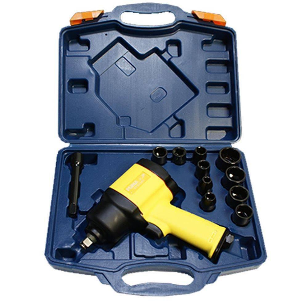 Chave de Impacto / Parafusadeira 1/2 P 6800 Rpm com Maleta e Acessórios Puma AT2830TK