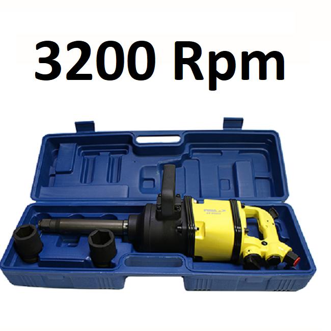 Chave de Impacto Pneumática Torque 320 Kgf 3200 rpm AT-5102TK