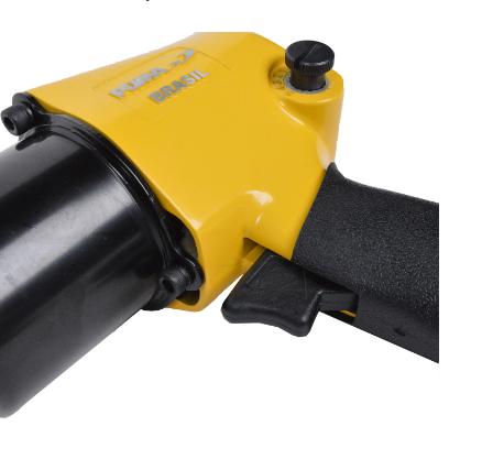 Chave Impacto Parafusadeira Pneumática 1/2 Torque 66 KGF 8000 RPM AT2810/16 Puma
