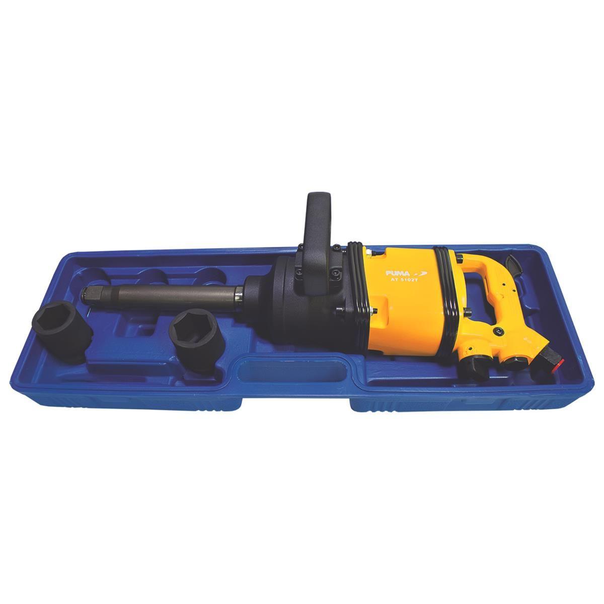 Chave de Impacto 1 Longa Torque 320 Kgf 5000 rpm AT-5102TK Soquete Puma
