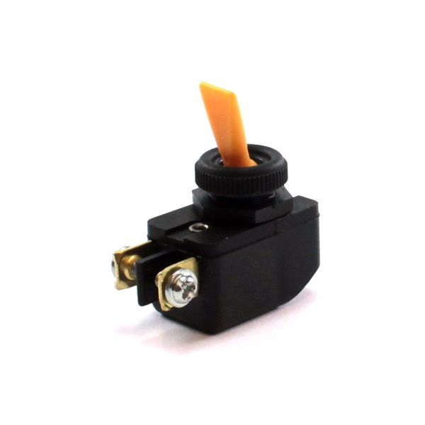 Chave / Interruptor de Alavanca Unipolar Amarelo L/D 6A CS-301D Margirius