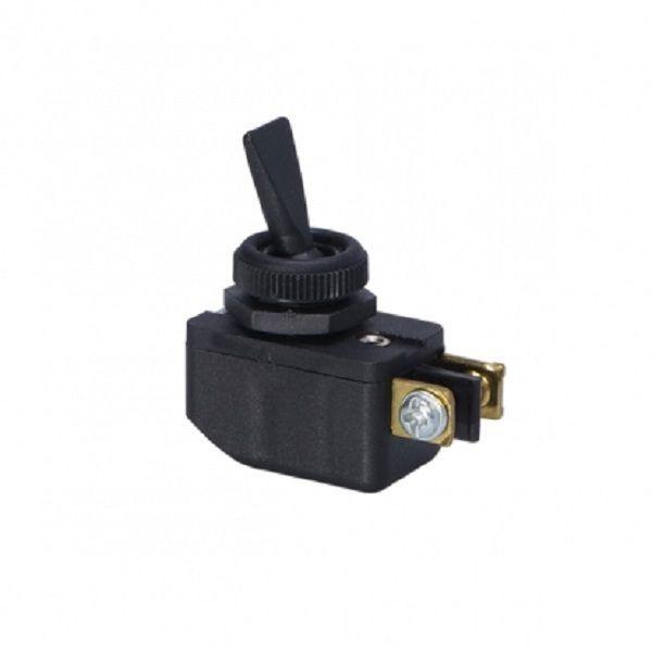 Chave / Interruptor de Alavanca Unipolar Preta L/D 6A CS-301D Margirius