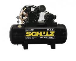 Compressor Ar 200L 5CV 220/380V Schulz