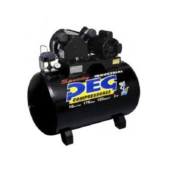 Compressor Ar Nbpvs 10/175H 2CV 2P Monofásico Peg