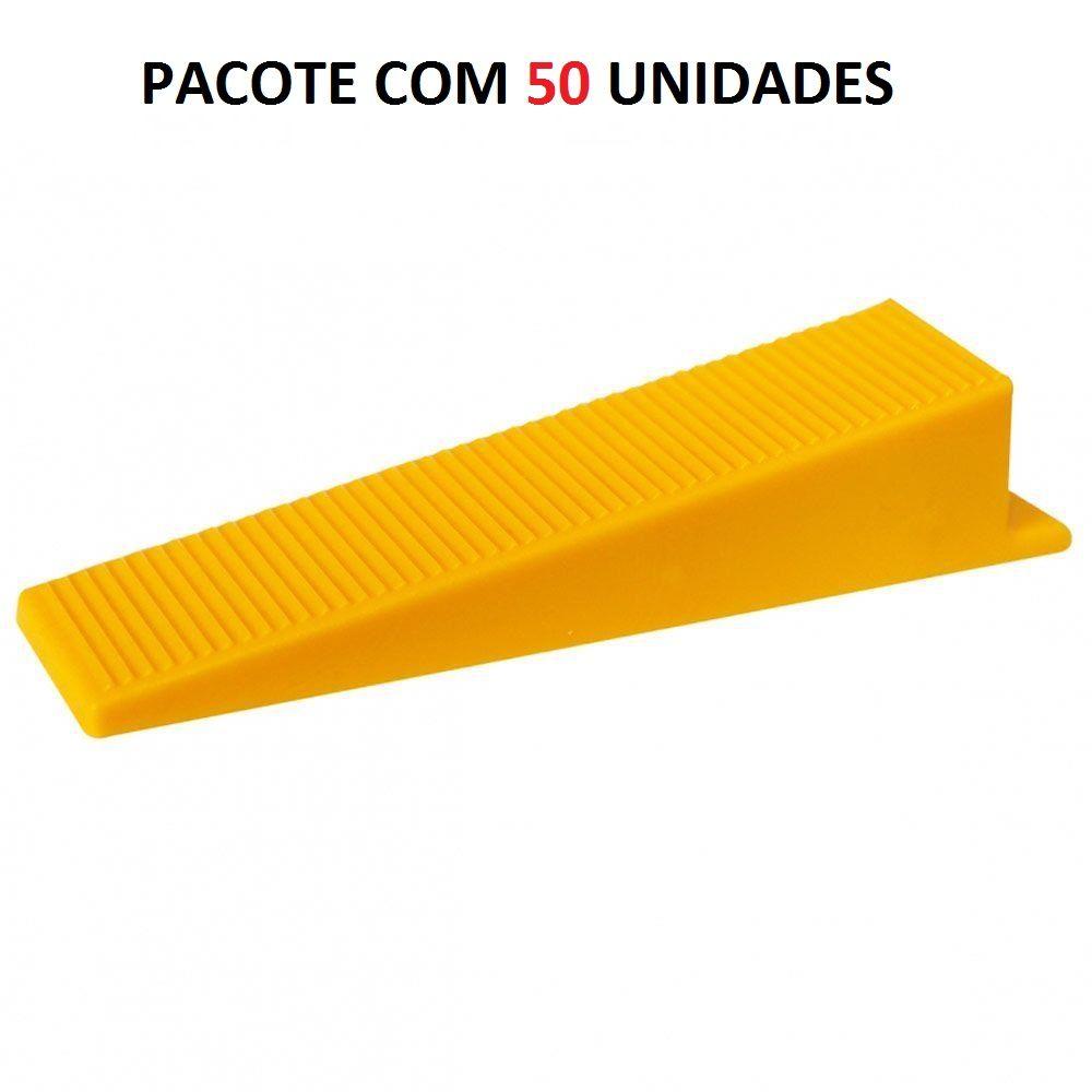 Conjunto 50 Cunhas De Nivelamento Cortag 60694