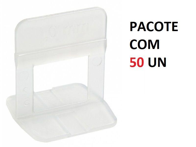 Conjunto 50 Espaçadores De Nivelamento de Piso 1,5mm Cortag