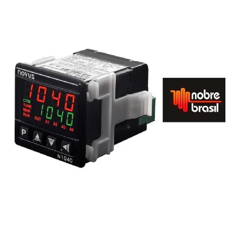 Contolador de Temperatura N1040 PRR 24V USB/PT100/J/K/T 1R+ Pulso  Novus
