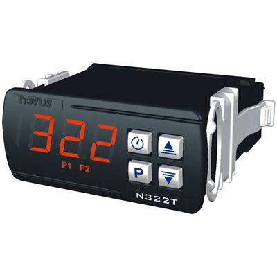 Controlador de Temperatura N322t - Pt100/Jkt Novus