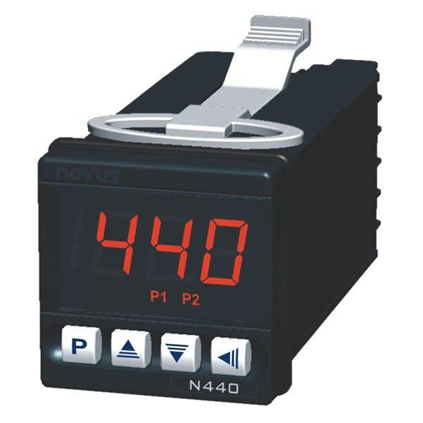Controlador de Temperatura N440-CPR Pt100 Rele Novus