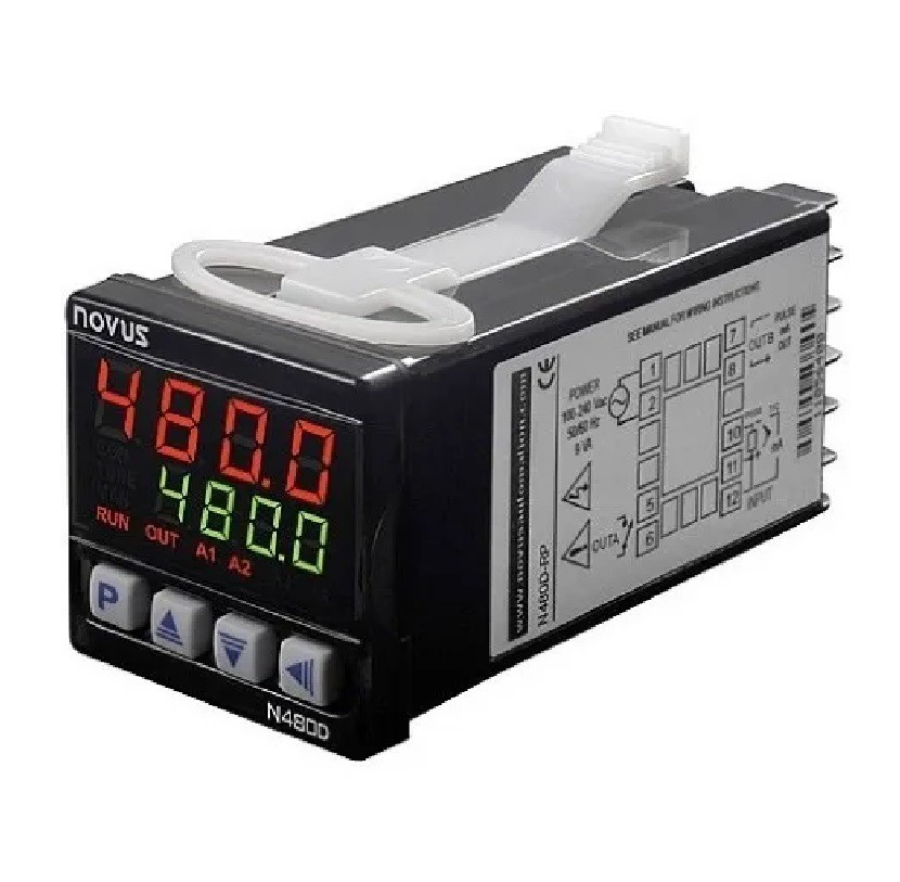 Controlador de Temperatura N480D-RP USB Novus
