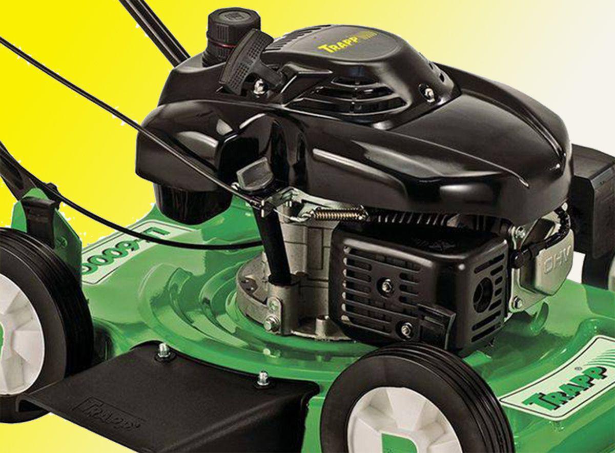 Cortador de Grama a Gasolina LF-600G 6.5 HP 4T Tanque 1,7 Litros Trapp
