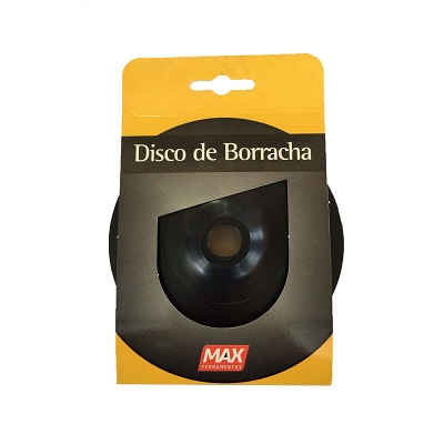 Disco Borracha 5'' Flex Max