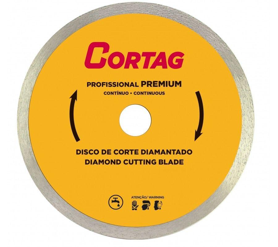 Disco de Corte Diamantado Profissional Premium 200 x 25,4 mm 8 Pol Cortag