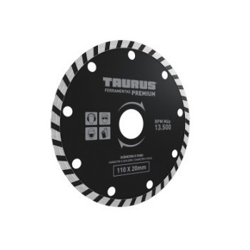 Disco De Corte Diamantado Turbo  Famastil 13500 Rpm