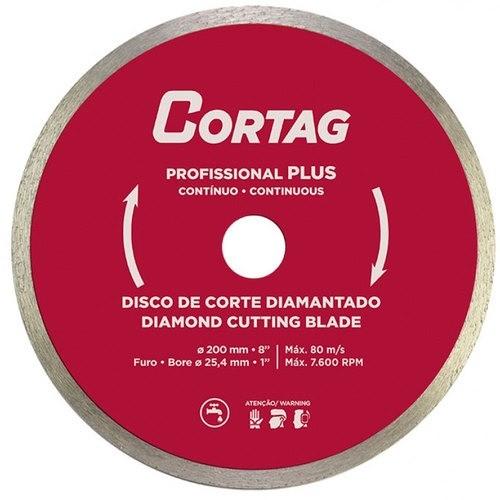 Disco Diamantado Profissional Plus 200 x 25,4 mm Cortag
