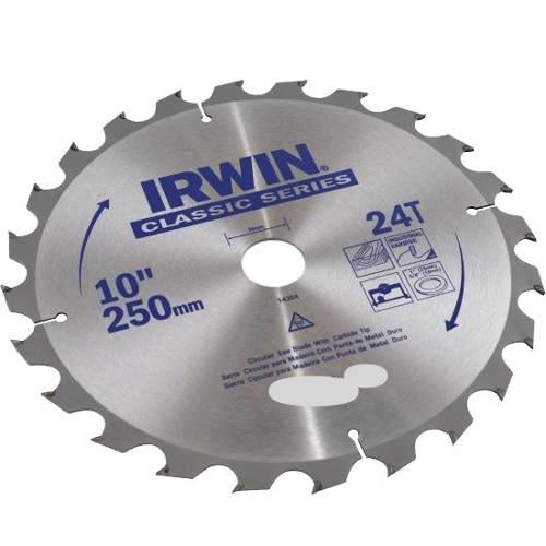 Disco Serra Circular 250 x 24D x 30mm Irwin IW14304
