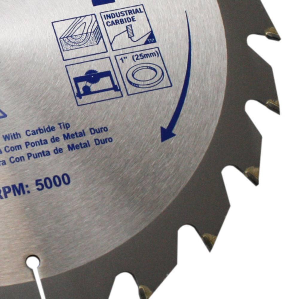 Disco Serra Circular 300 x 24 Dentes x 30mm Irwin IW14307