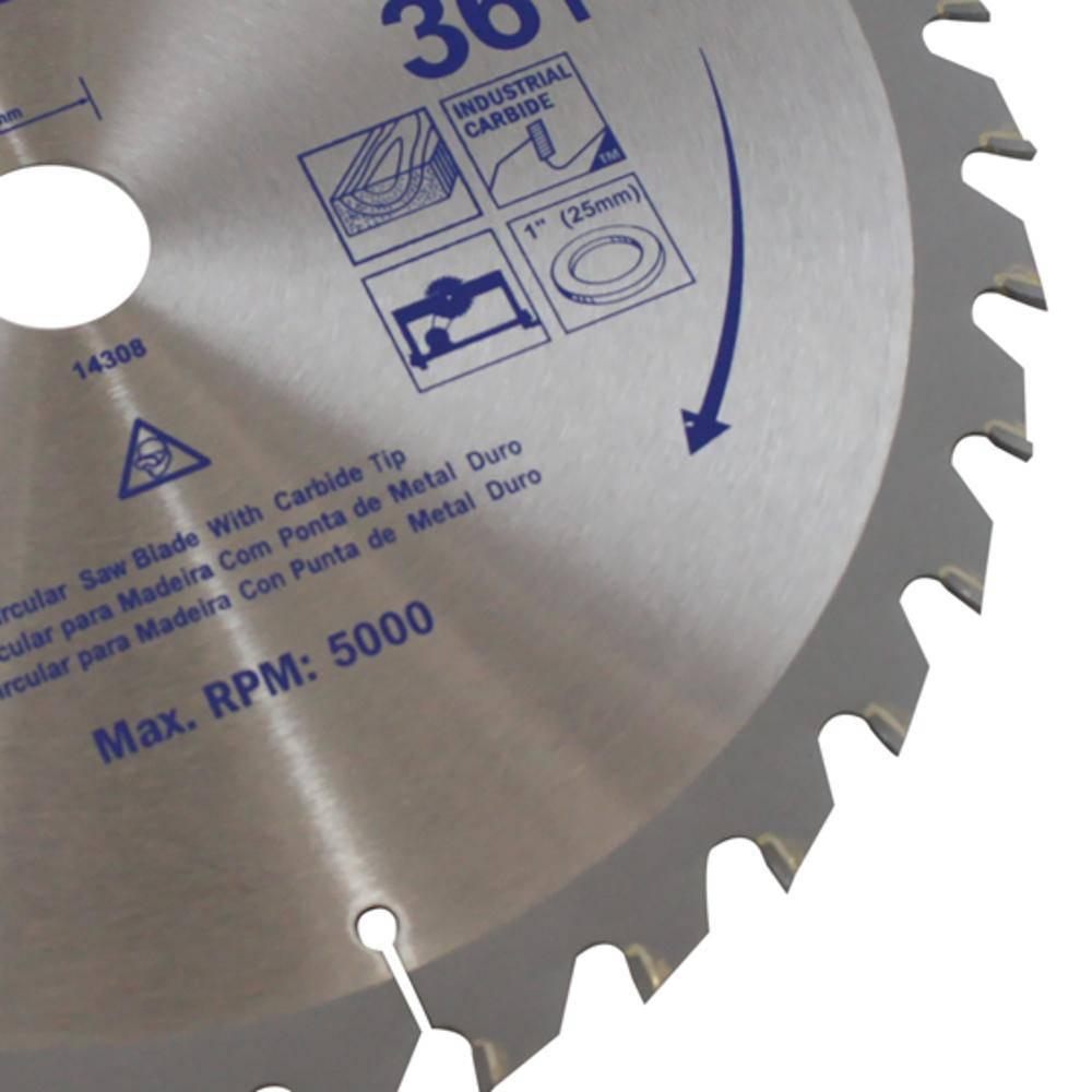 Disco Serra Circular 300 x 36 Dentes x 30mm Irwin IW14308
