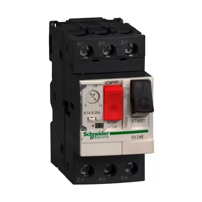 Disjuntor Motor GV2ME04 0,40-0,63A Schneider