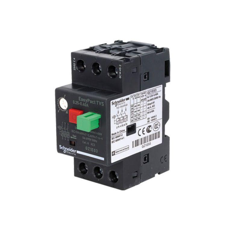 Disjuntor Motor GZ1E02 0,16-0,25A 0,08CV Schneider