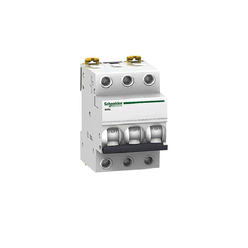 Disjuntor Tripolar 6A IC60N Curva C A9F74306 Schneider