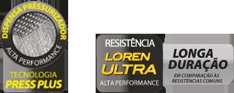 Ducha Chuveiro Acqua DUO Ultra Preto Cromado Lorenzetti 220v 6800w Eletrônica