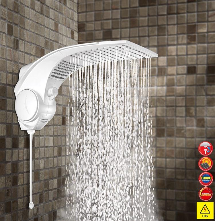 Ducha Chuveiro Duo Shower Quadra Turbo Eletrônica127v 5500w
