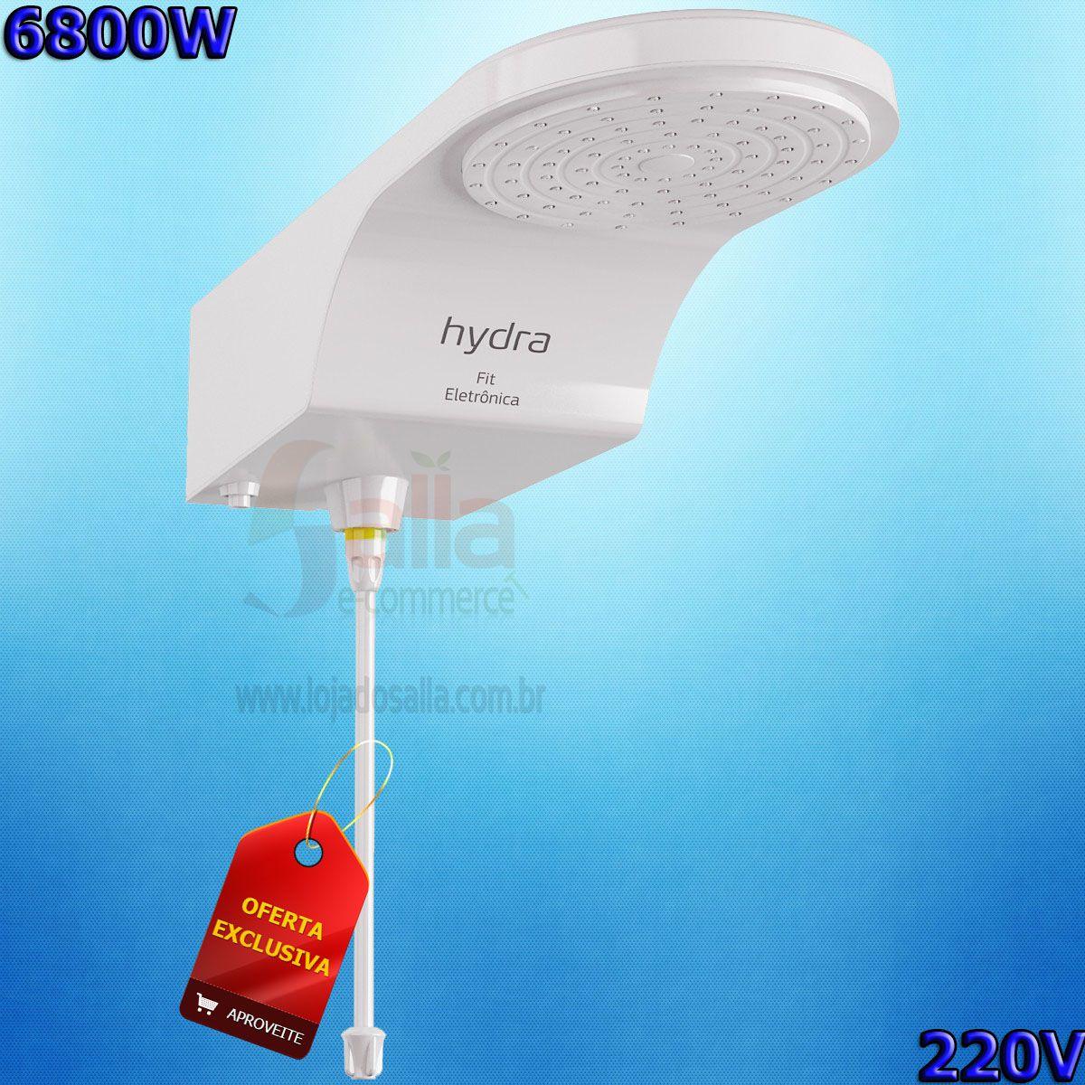 Ducha Eletrônica Fit 220v 6800w Hydra