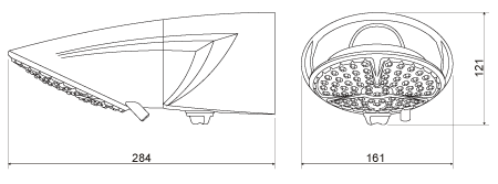 Ducha TopJet Multi Lorenzetti 220v 7500w Branca Chuveiro com Haste Prolongadora 30cm