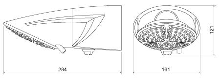 Ducha / Chuveiro TopJet Multi Lorenzetti 127v 5500w Branca com Haste Prolongadora 30cm