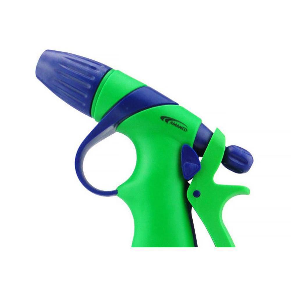 Esguicho Revolver 1 Jato Pvc com Engate Rapido Mod 08 Amanco