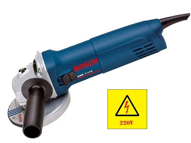 Esmerilhadeira 4 1/2 Gws 7-115 720w Bosch 220v