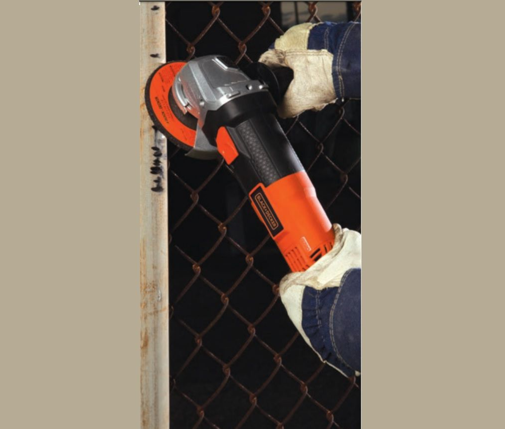 Esmerilhadeira / Lixadeira Elétrica 4 1/2 Pol 820w 115mm 11000 rpm 127v G720-BR Black+Decker