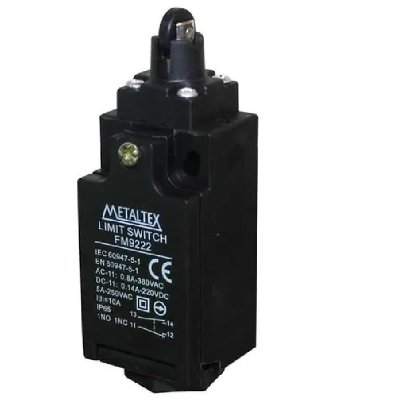 Fim De Curso Fm9222 Atuador Rolete 90º Metaltex