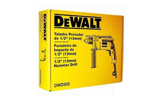 Furadeira Impacto 1/2 Dwd502br 710w 127v Dewalt