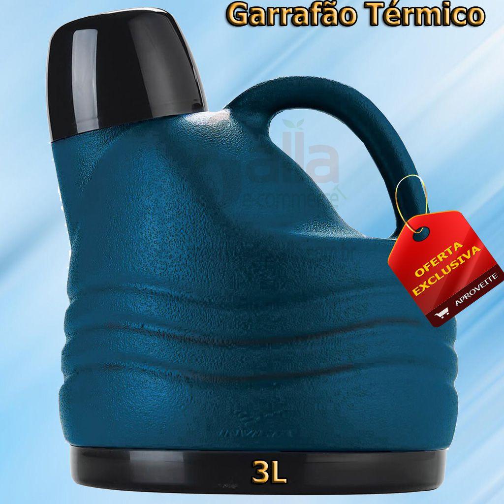 Garrafão / Botijão Térmico 3L Invicta Azul