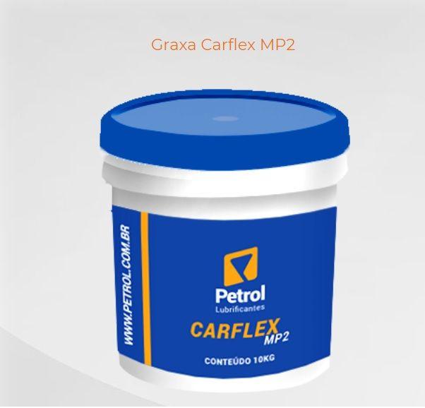 Graxa para Veículos / Rolamentos Petrol Carflex MP2 Azul Balde 10Kg