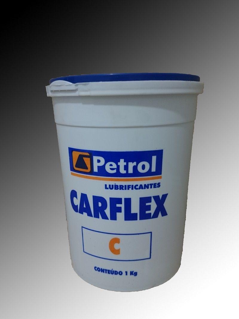 Graxa para Veículos / Rolamentos Petrol Lubrificante Carflex C Verde 1Kg
